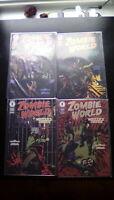 Zombie World Winter's Dregs #1-4 High Grade Comic Book RM5-115