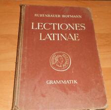 Lateinische Grammatik + Lectiones Latinae + Schulbuch 1952 Gymnasium