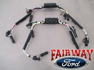 99 thru 04 F250 F350 OEM Ford 7.3L Diesel Fuel Injector Wiring Harness PAIR of 2