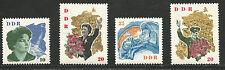 DDR MiNr. 993 - 996 ** Sowjetische Kosmonauten im kompletten Satz vom Bogen