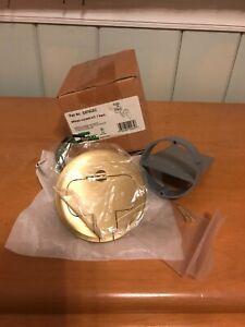 Carlon Round Floor Box, Brass Cover Kit E970CEC