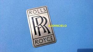 Vintage ROLLS ROYCE badge ORIGINAL enamel emblem