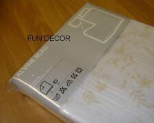 NEW IKEA ALVINE BLAD Duvet Quilt Cover And 2 Pillow Cases - Full / Queen