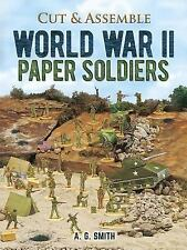 World War II Paper Soldiers (Models & Toys), Crafts, Art, Models, Printed Books,
