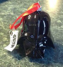 STAR WARS Darth Vader Rare Blown Glass Hallmark Christmas Ornament Disney NWT