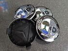 4X Logo mercedes couleur caps Cache moyeu centre roue 75mm jante badge AMG