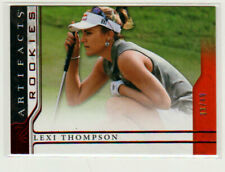 New listing 2021 Upper Deck Artifacts Golf LEXI THOMPSON RED PARALLEL ROOKIE /49!