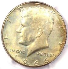 1966 Kennedy Half Dollar (50C Coin) - PCGS MS66 - Rare in MS66 - $325 Value!