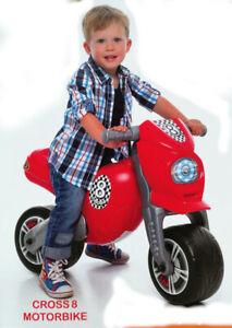 "Rutscher ""Cross 8"" Laufrad Motorrad Rutschauto extra groß 80cm NEU OVP EU-WARE"