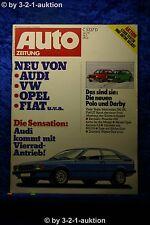 Auto Zeitung 3/79 DB 280 SE Opel Ascona 2,4 (400) Ford Mustang Porsche 924 Turbo
