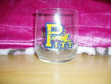 """""""Pittsburgh University, Panthers, Glass Drinking Cup"""""""