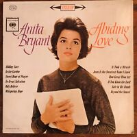 ANITA BRYANT  ABIDING LOVE VINYL LP  COLUMBIA CS 8567  EXCELLENT CONDITION