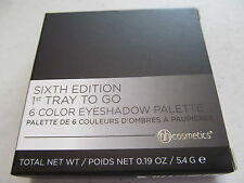 SIXTH 6TH EDITION 1ST TRAY TO GO 6-color eyeshadow palette BH Cosmetics makeup