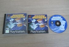 Jigsaw Madness - PAL - Sony Playstation 1 / PS1 Game - Complete
