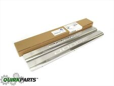 RAM 1500 2500 3500 4500 5500 STAINLESS STEEL FRONT DOOR SILL GUARDS NEW MOPAR