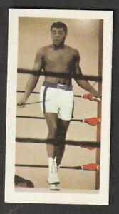 BARRATT goldflake Confectionary BOXING AMERICAN Cassius Clay Muhamed Ali