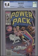 Power Pack #1 (1984) CGC 9.4 KEY 1st App Rare $1.25 Canadian Price Variant CPV !