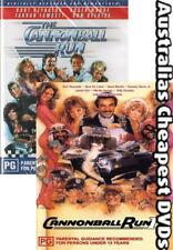 Cannonball Run 1 & 2 DVD NEW, FREE POSTAGE WITHIN AUSTRALIA REGION 2 & 4