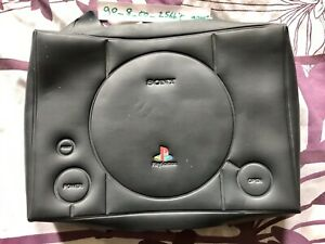 Sony Playstation 1 Dust Cover Rare Black