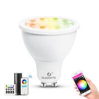 GU10 LED RGB Birnen Licht Smart Lampe Zigbee Soposh dual white & color Spotlight