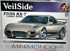 Kit veilside fd3s rx-7 Combat Model Mazda rx7 1/24 Aoshima 00722 722