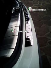 modanatura battivaligia paraurto posteriore acciaio cromo Nissan Qashqai 17-20