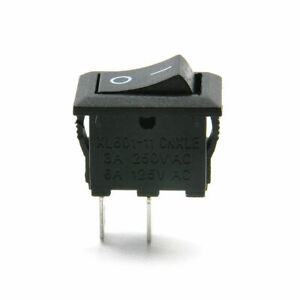 ON/OFF 12V 16A 2-Pin SPST Switch Car Truck Boat Toggle Rocker AC DC