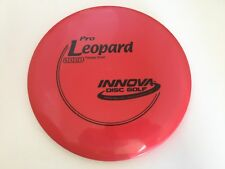 New Frisbee Disc Golf Innova Red Pro Leopard 175g Straight Fairway Driver