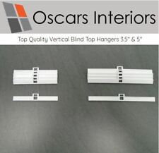 "Professional Quality Vertical Blind Top Hangers 3.5"" & 5"" Width Spares Parts"