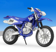 1:18 Maisto YAMAHA TT R250 Motorcycle Motocross Bike Model Toy Blue New in Box