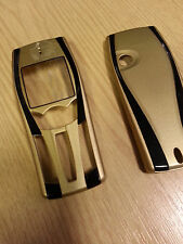 New for Nokia 7250 7250i Gold Front Fascia Housing & Battery Cover
