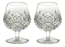 Pair of Waterford Crystal Lismore Brandy Balloon Wine Glasses *New in Box*