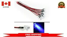 5 x Pre wired 12V 5mm Blue LED Prewired 12 volt DC LED Light Arduino Projects