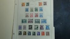 German Bohemia Slovakia + classic stamp collection on Scott pages