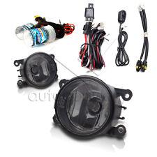 For 2005-2012 Nissan Pathfinder Fog Lights w/Wiring Kit & HID Kit - Smoke