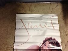 Oop! Janet Jackson Promo poster Collectibles Cd michael jackson .