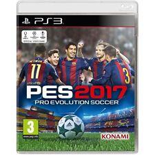 Pro Evolution Soccer 2017 juego PS3 -! totalmente Nuevo!