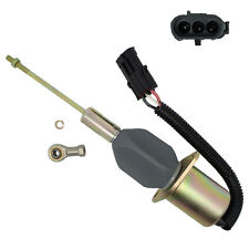 Fuel Shutoff Solenoid - John Deere 4955 4560 4760 4960 644G Loader - RE53507 New