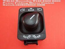 WB145 Mercedes W140 S420 S500 Power Folding Mirror Control Switch 1408206610 OEM