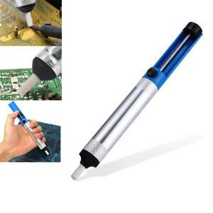Solder Sucker Desoldering Pump Tool Kit Removal Vacuum Soldering Iron Desolver