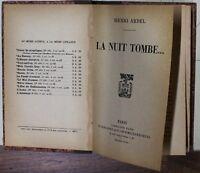 La nuit tombe - Ardel - Plon-nourrit 1913