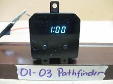 00-03 NISSAN PATHFINDER DASH  DIGITAL CLOCK