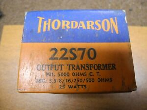 Thordarson 22S70 Output Transformer NIB