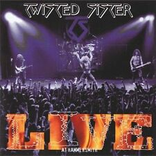 Twisted Sister - Live at Hammersmith - 2 CD Alice Cooper Ratt Poison Motley Crue