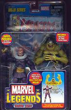 Marvel Legends 6 Pulgadas Figura De Acción Baron Zemo Desenmascarado Variante Mojo