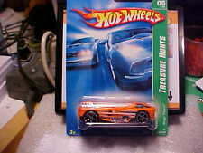 2007 Hot Wheels Treasure Hunt #5 Mega Thrust Treasure Hunts Card