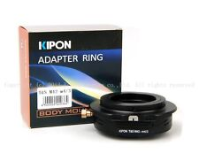 The Latest Kipon Tilt&Shift Adapter for m42mount to Micro4/3 E-PM1 E-PM2 GH2 GH3