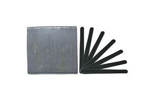 Professional Black Wood Board 120/120 Grit 6.5 inch Beauty Salon Nail Files