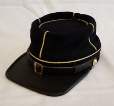 American Civil War Confederate 1st Lt. Officers Kepi Visor Hat Cap