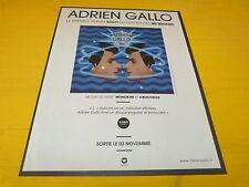 ADRIEN GALLO - BB BRUNES - Gemini - Publicité de magazine / Advert !!!